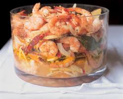 pickled shrimp salad