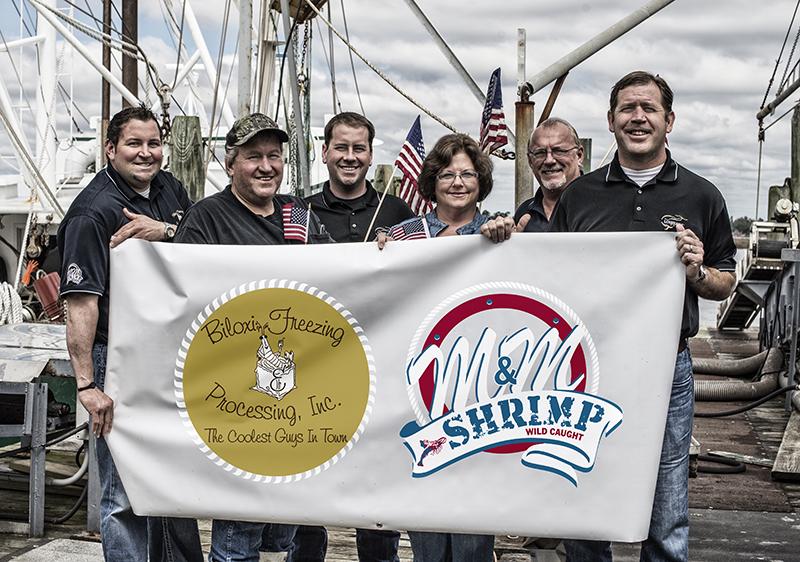 A photo of the Biloxi Shrimp Co. team.