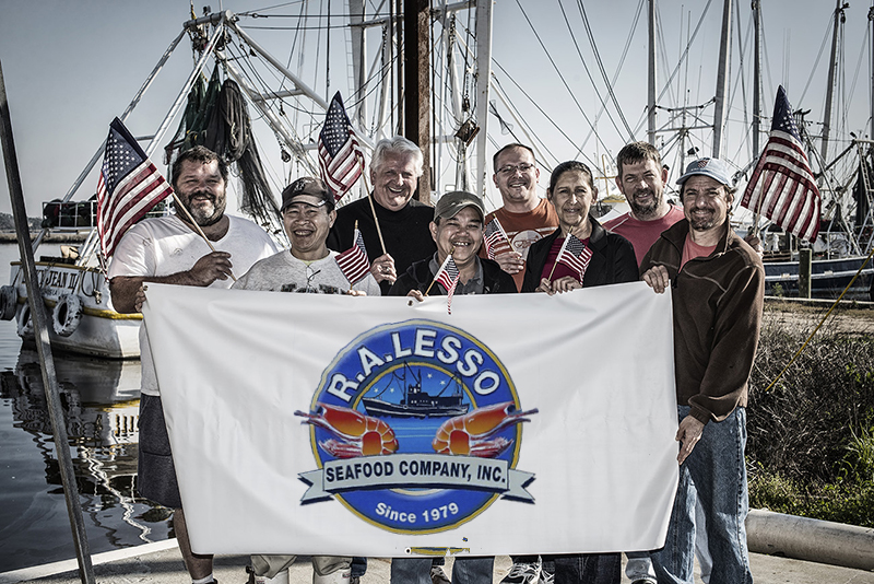 A group photo of R. A. Lesso Seafood, Inc.