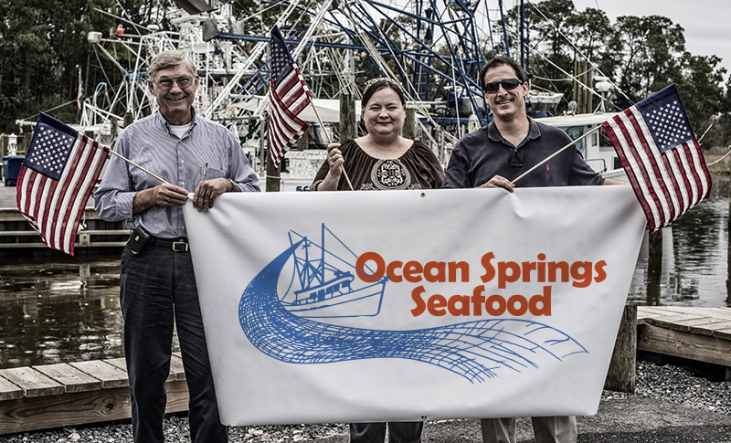 A group photograph of Ocean Springs Seafood, Inc.