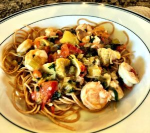 Shrimp Acadian - Dorothy Noriea - Win Your Weight in Shrimp Contest - Wild American Shrimp Recipes