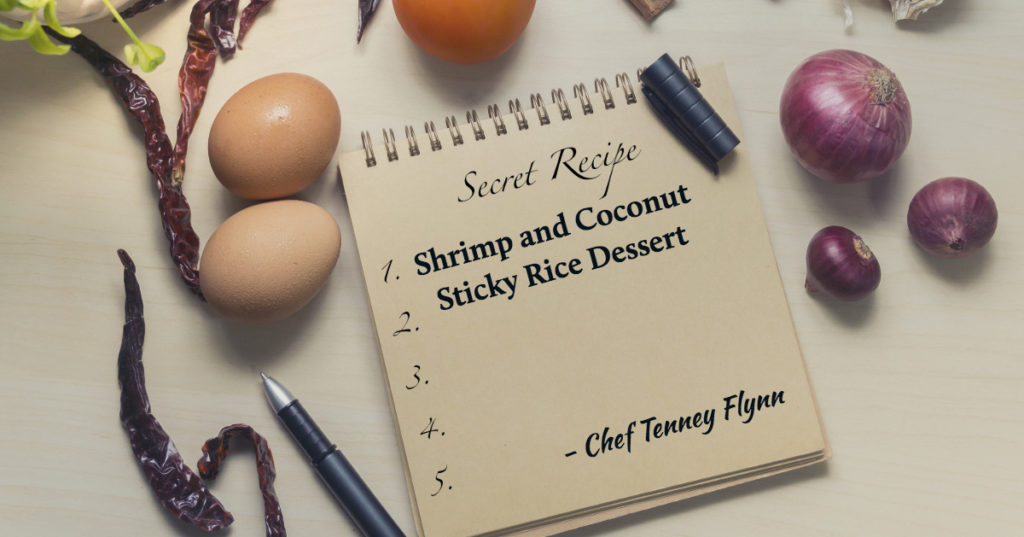 Shrimp and Coconut Sticky Rice - Tenney Flynn