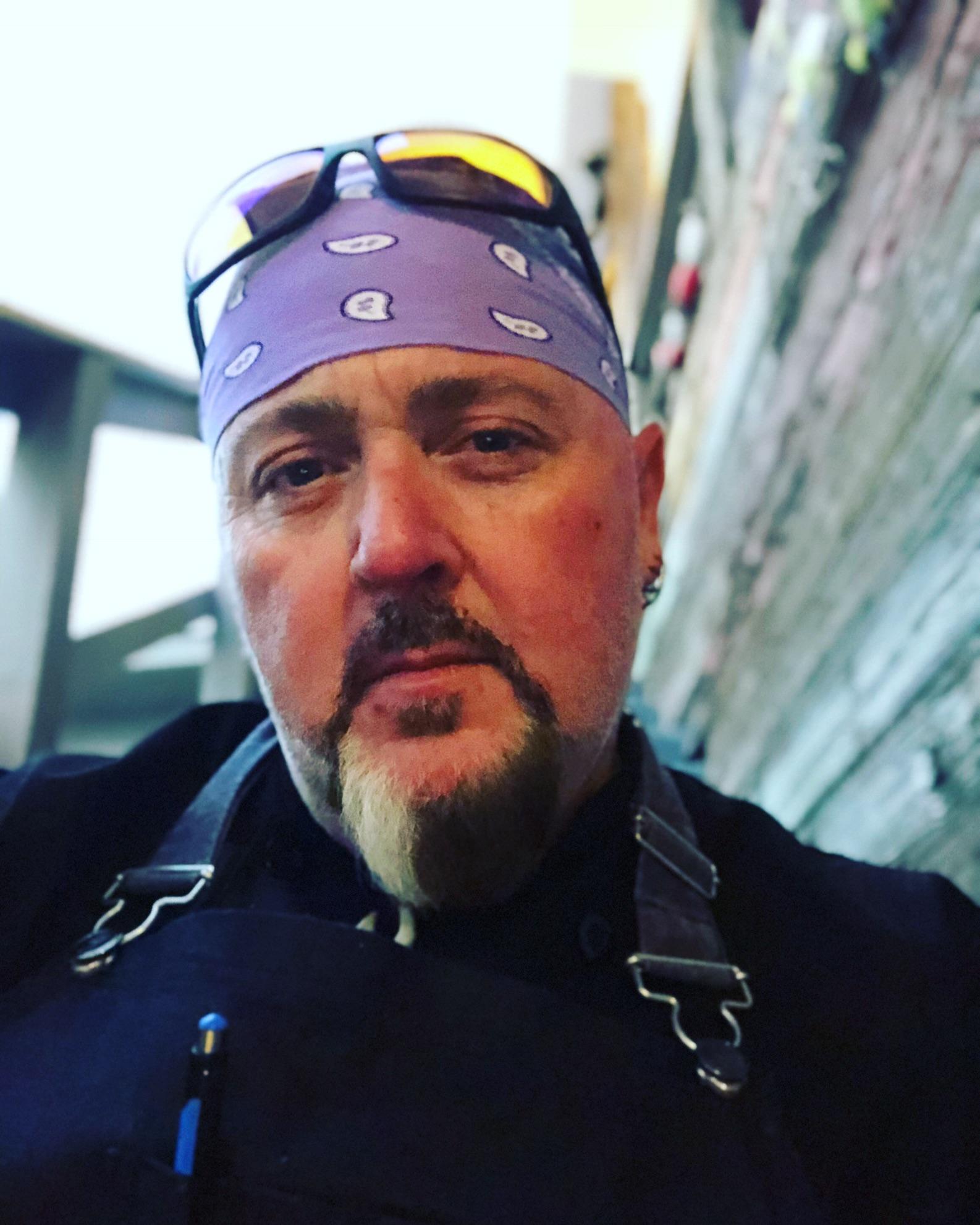 A headshot of Chef Jon Gibson.