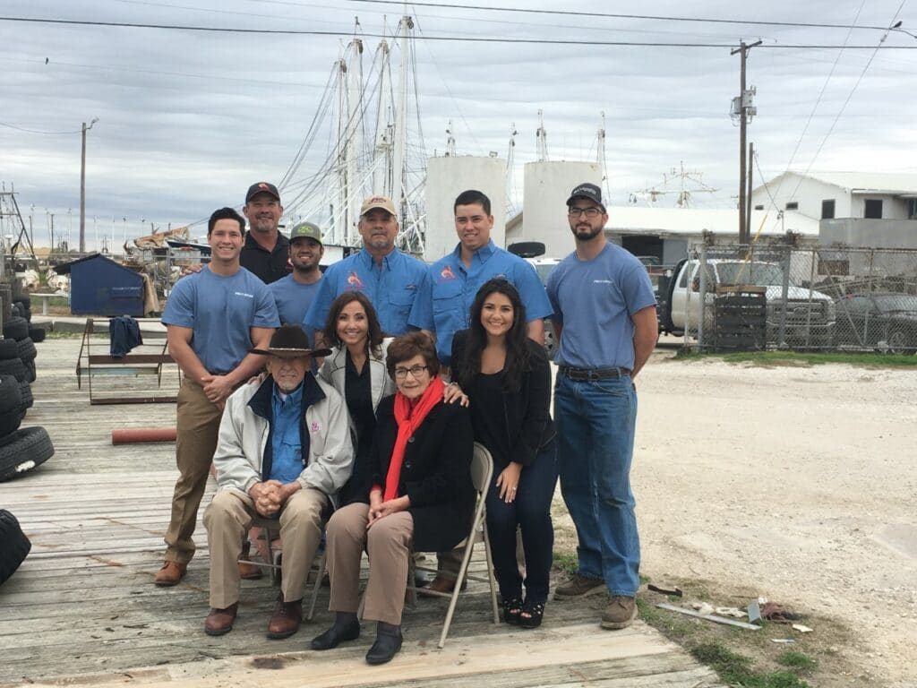 A picture of members of Philly Seafood Co.
